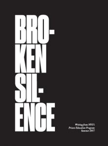 Broken Silence Publication front cover
