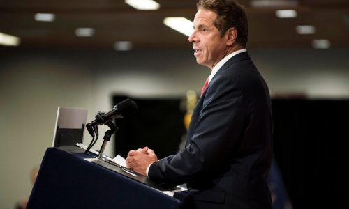Photo of New York Governor Cuomo
