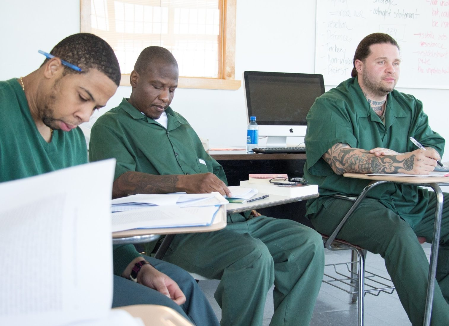 Students at Wallkill studying in class