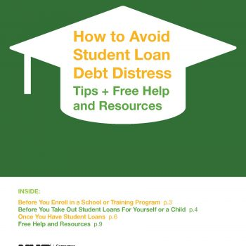 How to Avoid Student Loan Debt Distress_ Tips + Free Help and Resources
